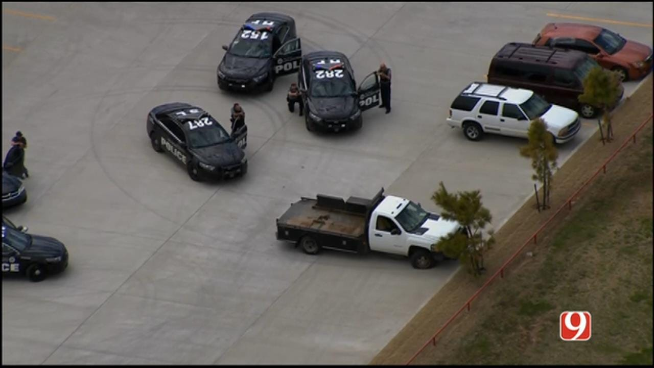 Suspect Surrenders To Police Following Pursuit In NW OKC