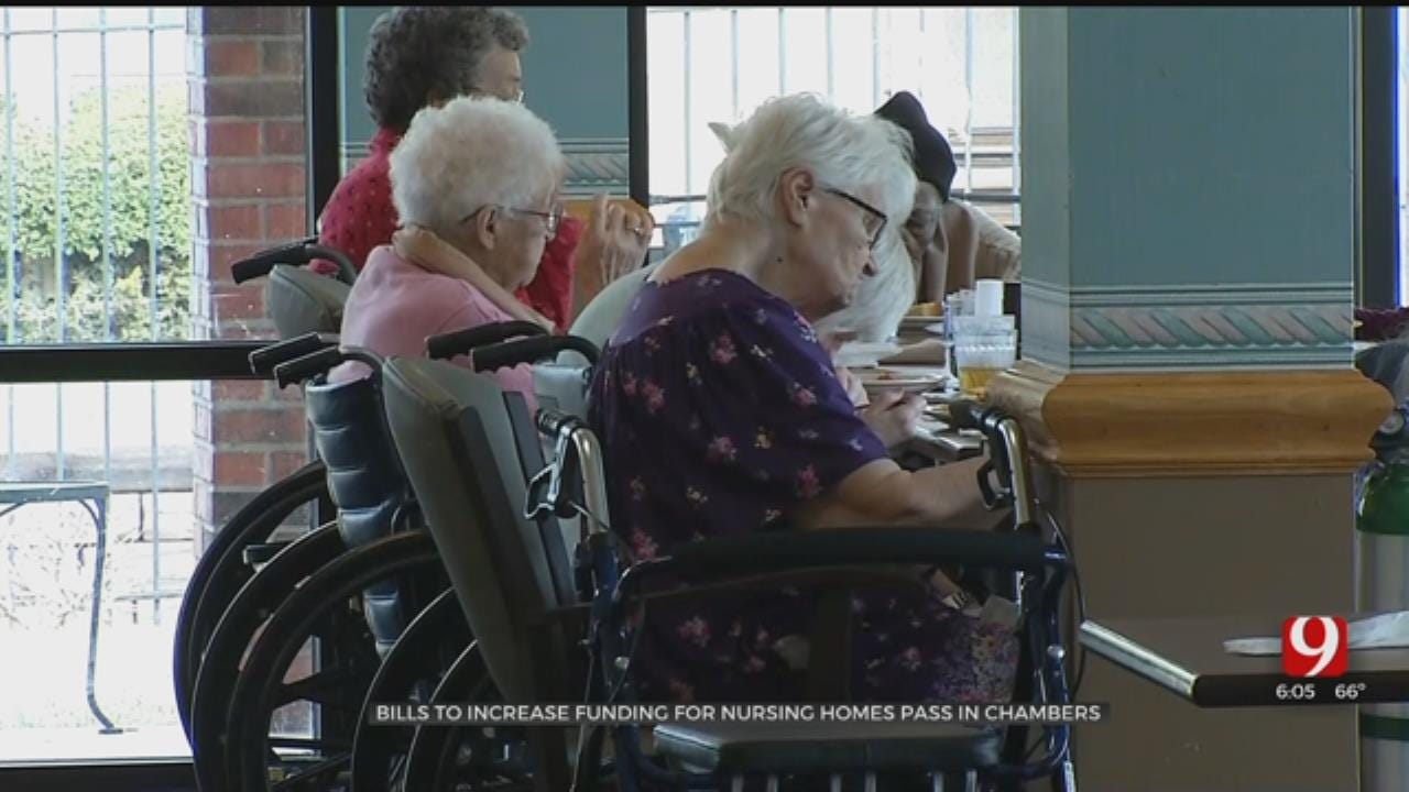 Bills To Increase Funding For Nursing Homes Pass In Chambers