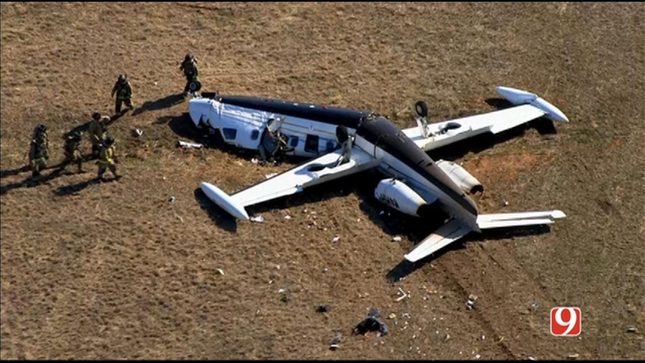 OKCFD: 1 Dead, 1 Critical After Small Plane Crash At Sundance Airport In OKC