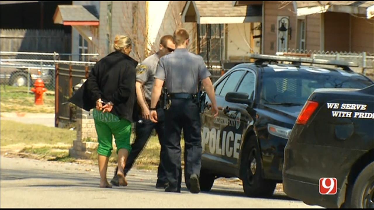 WATCH: 1 Suspect Taken Into Custody Following Pursuit In SW OKC