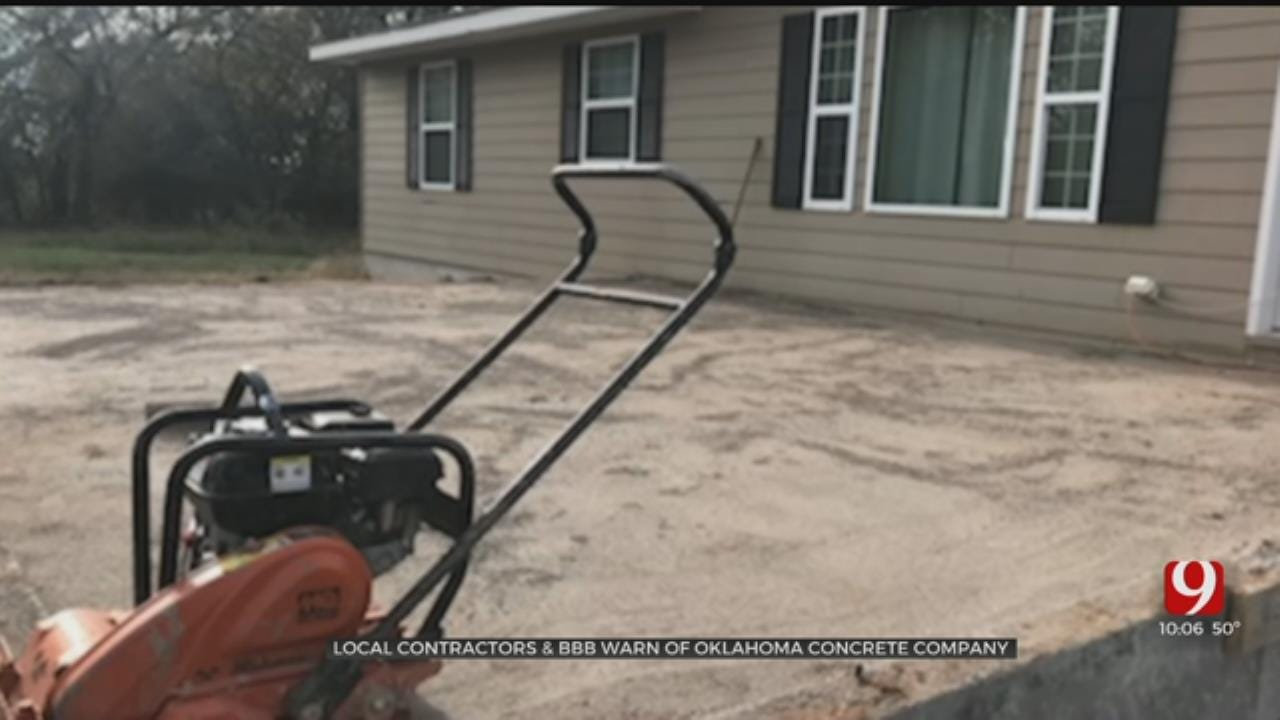 OKC Contractor Allegedly Owed Thousands By Tulsa Concrete Company