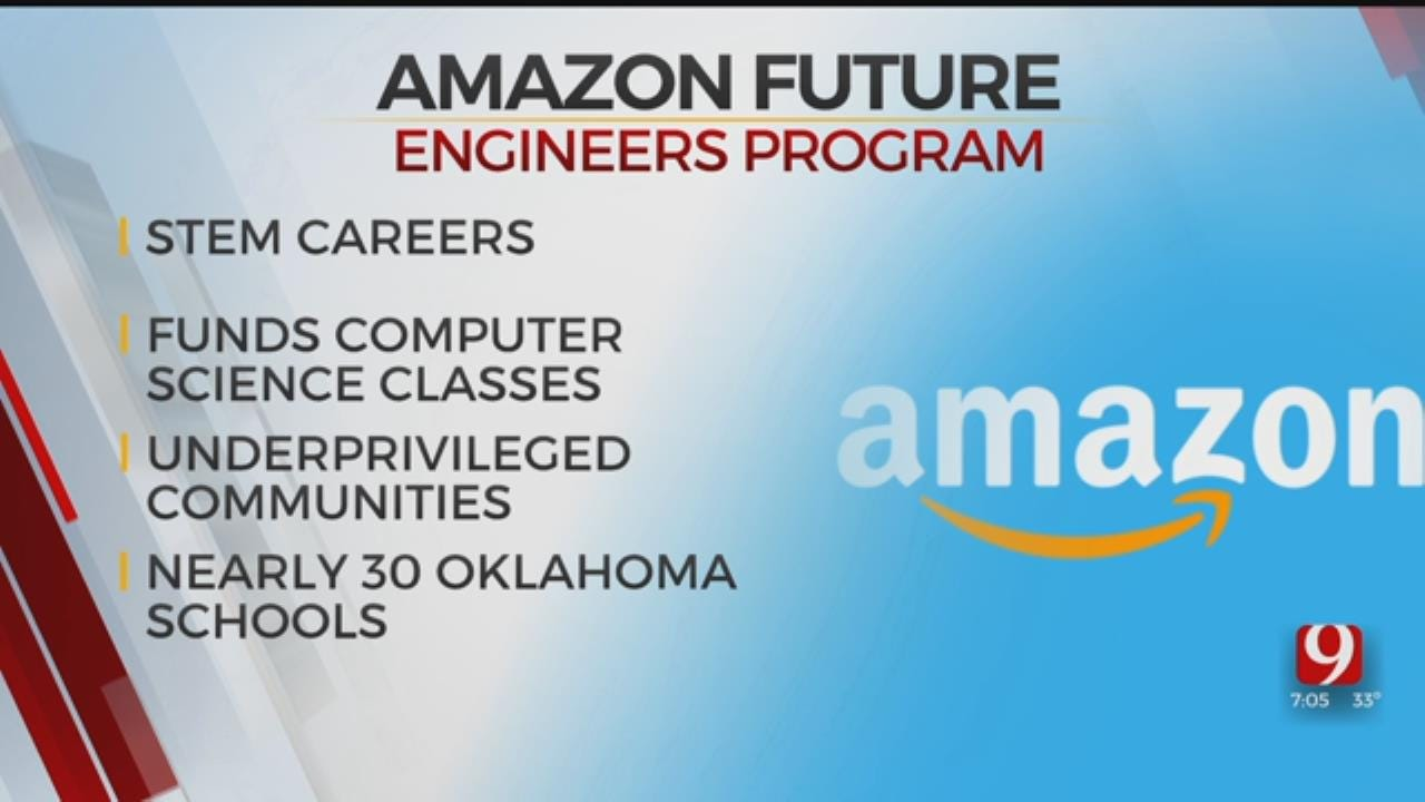 Amazon Program To Support Nearly 30 Oklahoma Schools