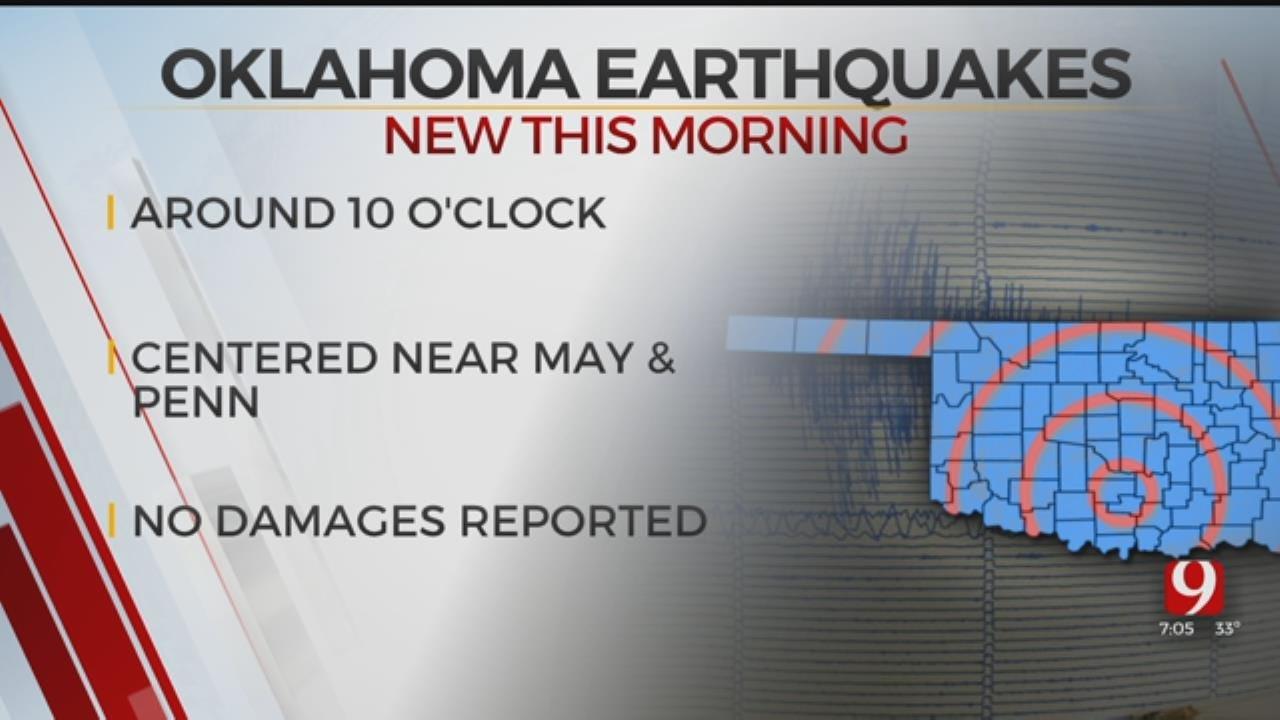 3.0 Earthquake Recorded Near Edmond