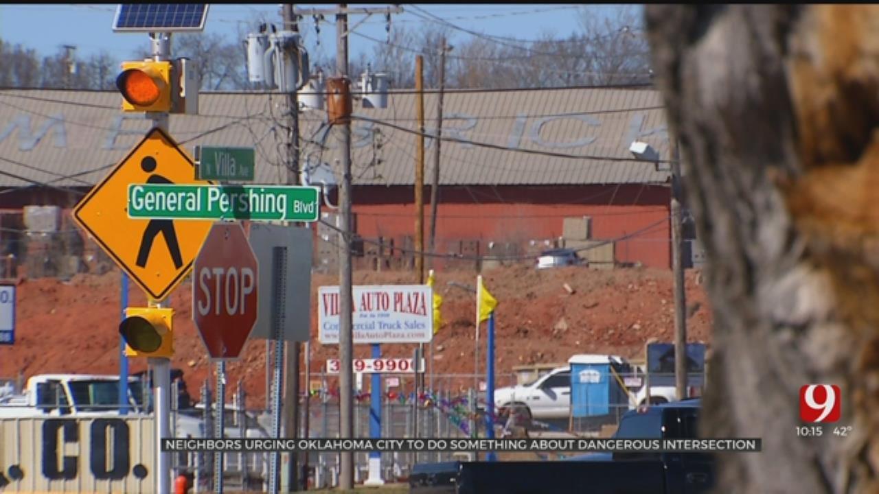 Dangerous Intersection Raises Concerns In NW OKCNeighborhood