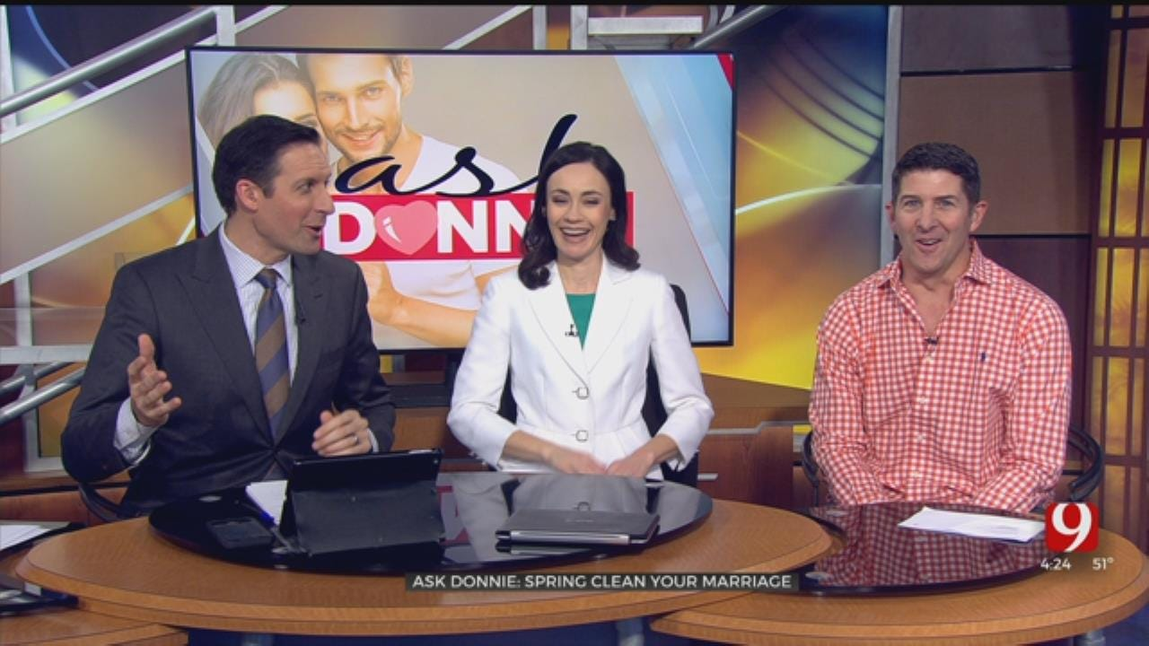 Ask Donnie:Spring Clean Your Marriage
