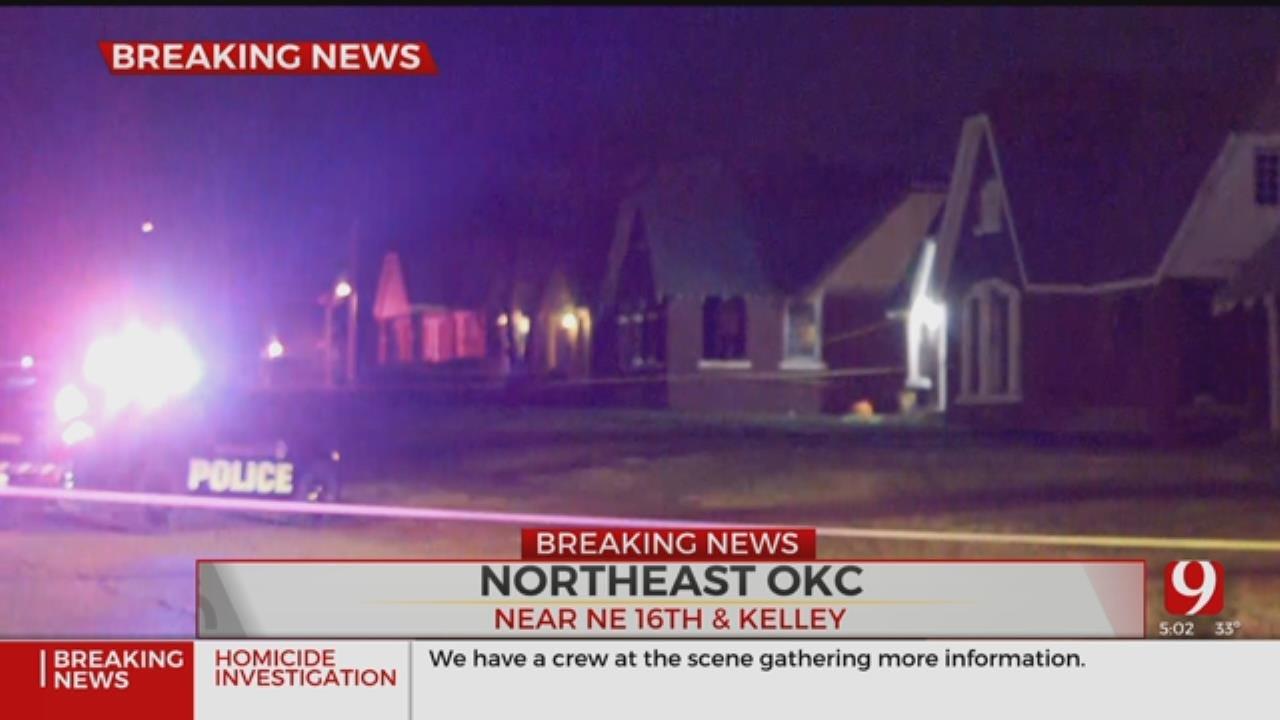 Police Investigate NE OKC Homicide