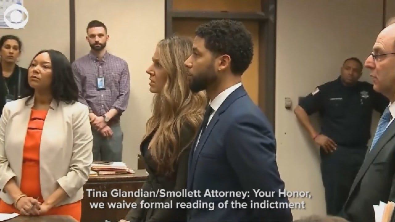 Jussie Smollett Enters Not Guilty Plea To 16 Counts