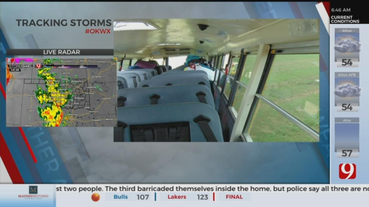 Texas Troopers Release Photos After Norman School Bus Crash