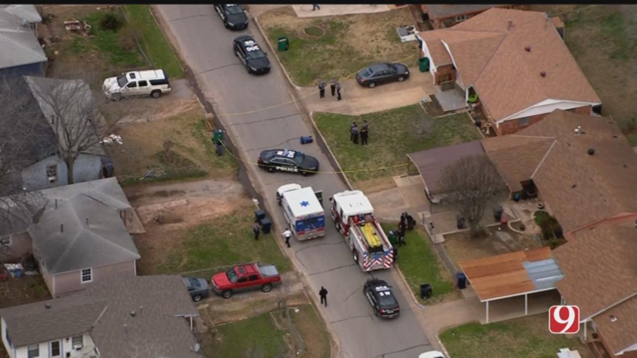 Woman Injured In SW OKC Shooting