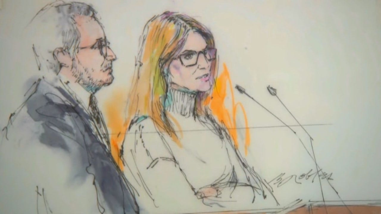 Lori Loughlin Makes 1st Court Appearance After College Bribery Scandal