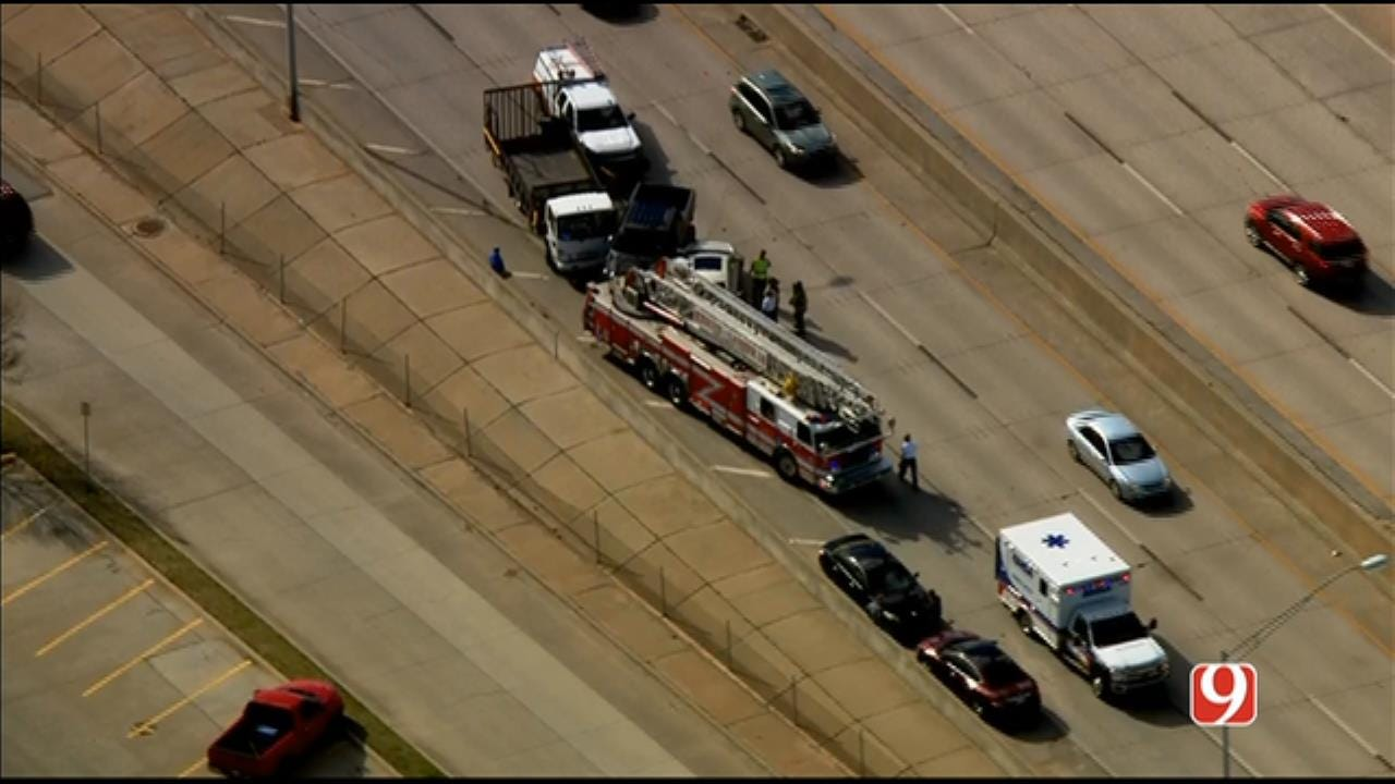 Multiple Vehicles Including Fire Truck Involved In Crash