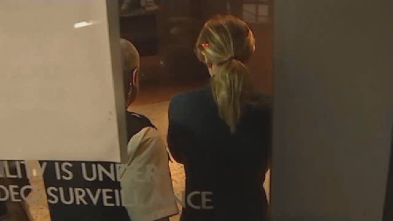 WATCH: Actress Felicity Huffman Arrives At Court After Indictment