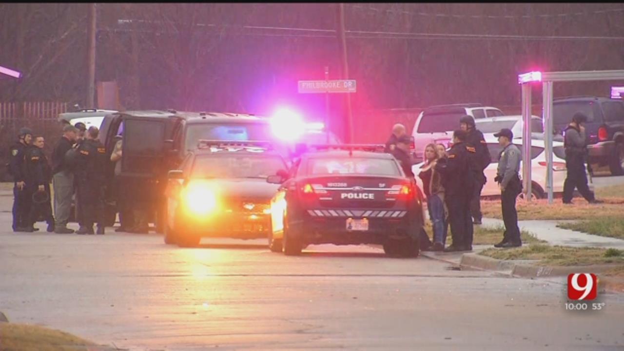 Suspects In Custody Following Standoff In SW OKC