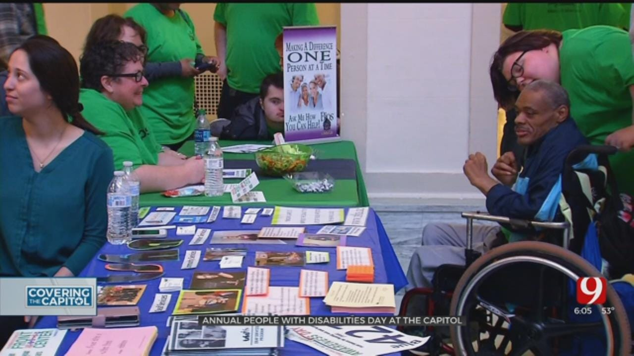 Oklahomans With Disabilities Share Stories, Lobby For Change At State Capitol