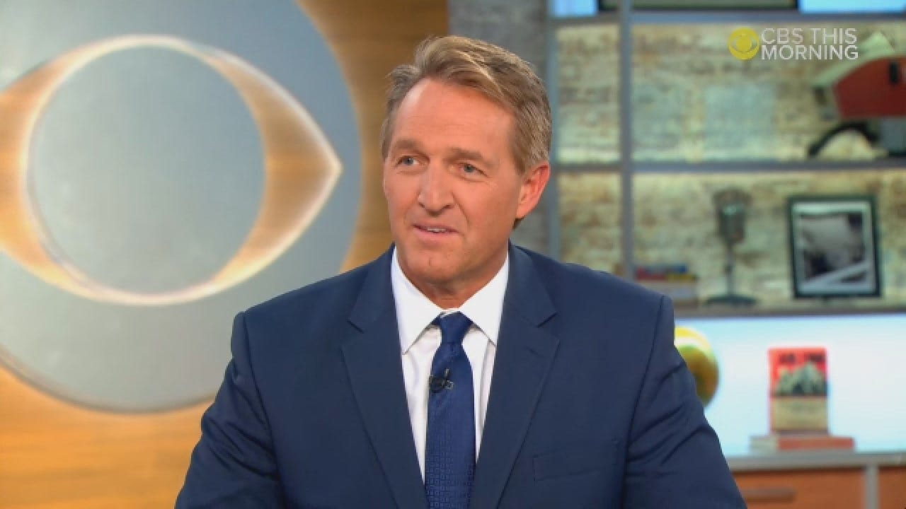 Jeff Flake On 2020: Joe Biden 'Strikes Fear In A Lot Of Republicans'