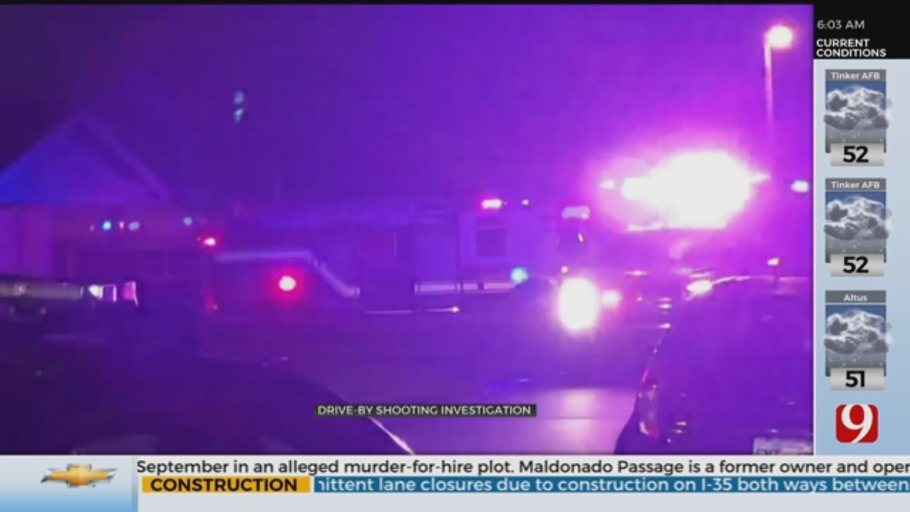 Police Investigate NE Oklahoma City Drive-By Shooting