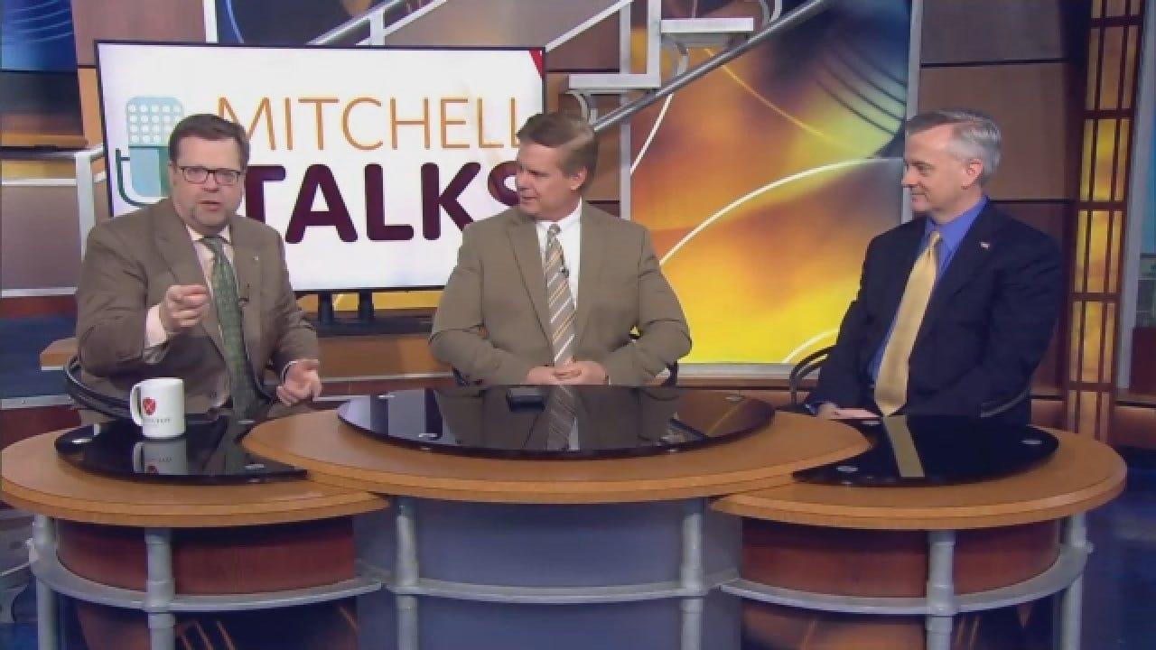 Mitchell Talks: More Power To Governor, Legislature?