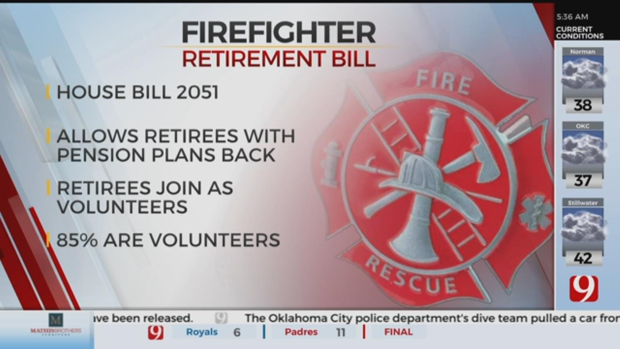 New Bill Would Allow Retired Firefighters To Return to The Field