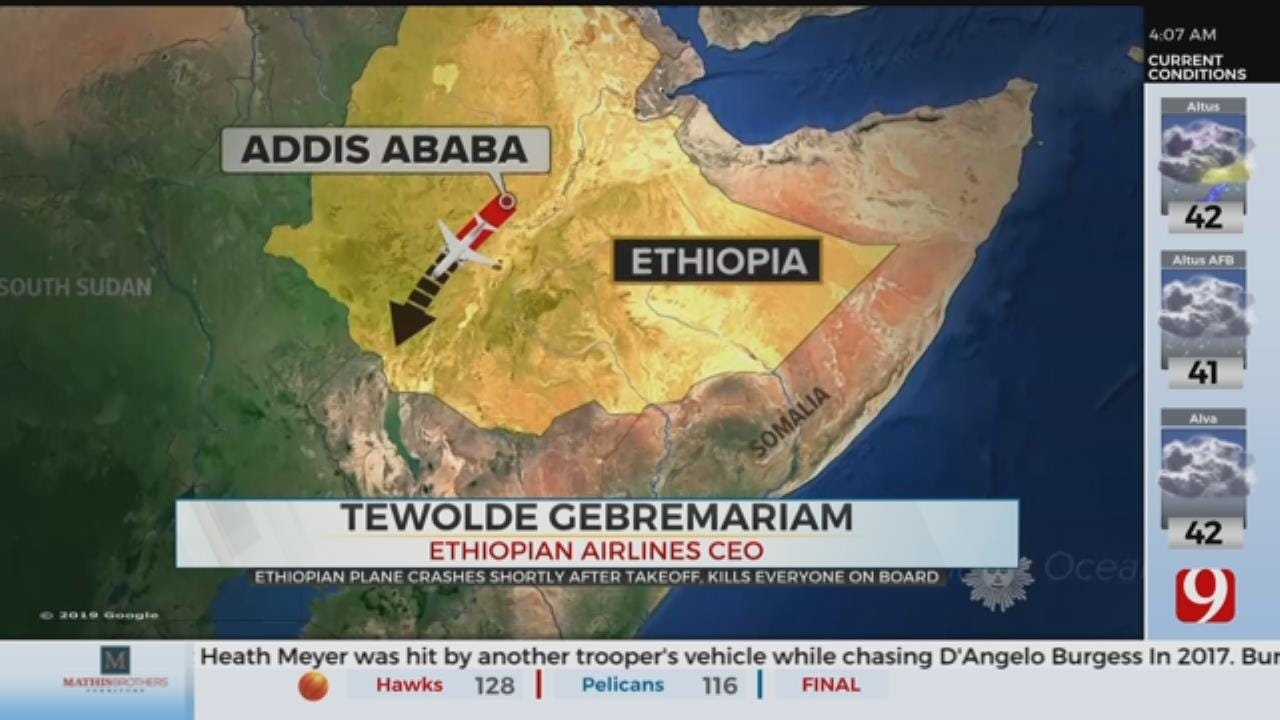 Ethiopian Airlines Flight Crashes Minutes After Takeoff, Killing All 157 Onboard