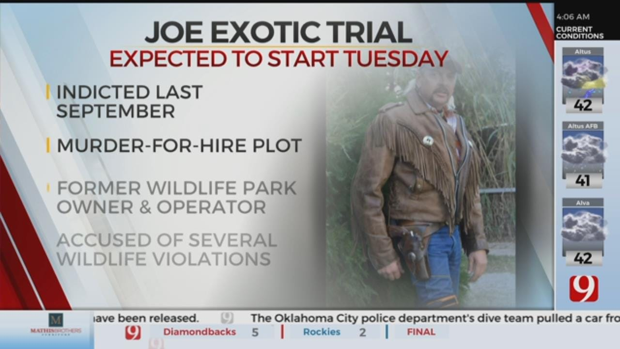 Joe Exotic Trial Starts, Faces Charges For Murder-For-Hire Plot
