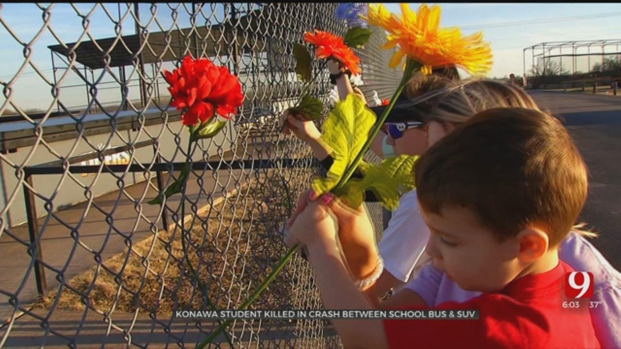 Konawa Schools Will Be Closed Monday Following Tragic Bus Crash
