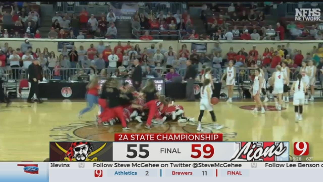 WATCH: Highlights From Oklahoma State Championship High School Basketball Games