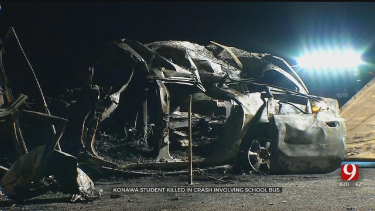OHP Seeking Help Identifying Passenger In Konawa Bus Crash