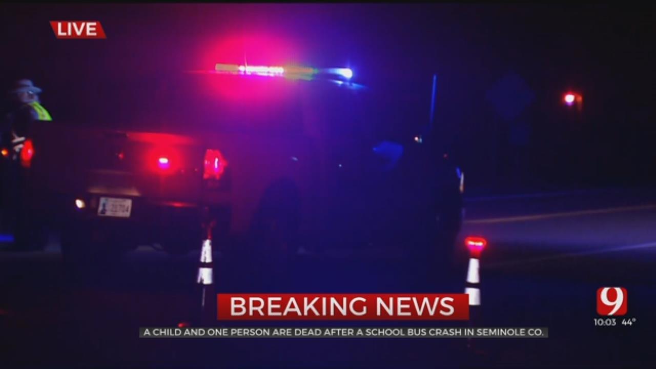 2 Dead Following Crash Involving School Bus In Seminole County