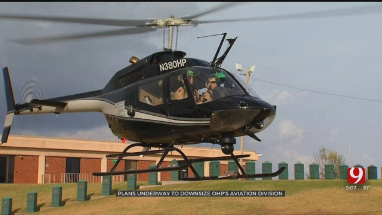 OHP Aviation Unit To Be Downsized At Governor Stitt's Request