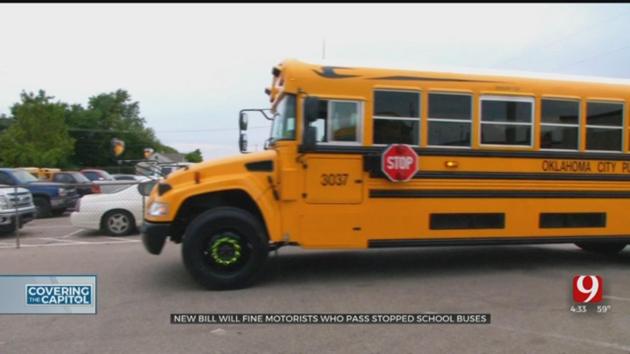 New Bill Will Fine Motorists Who Fail To Stop For School Buses