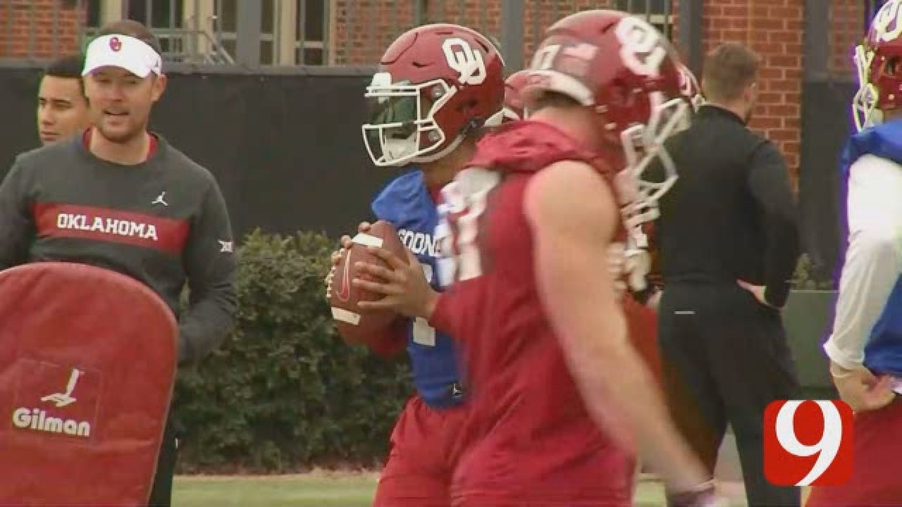 OU Football Spring practice for WEB.wmv