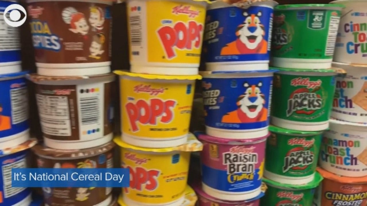 It's National Cereal Day; What's Your Favorite Cereal?