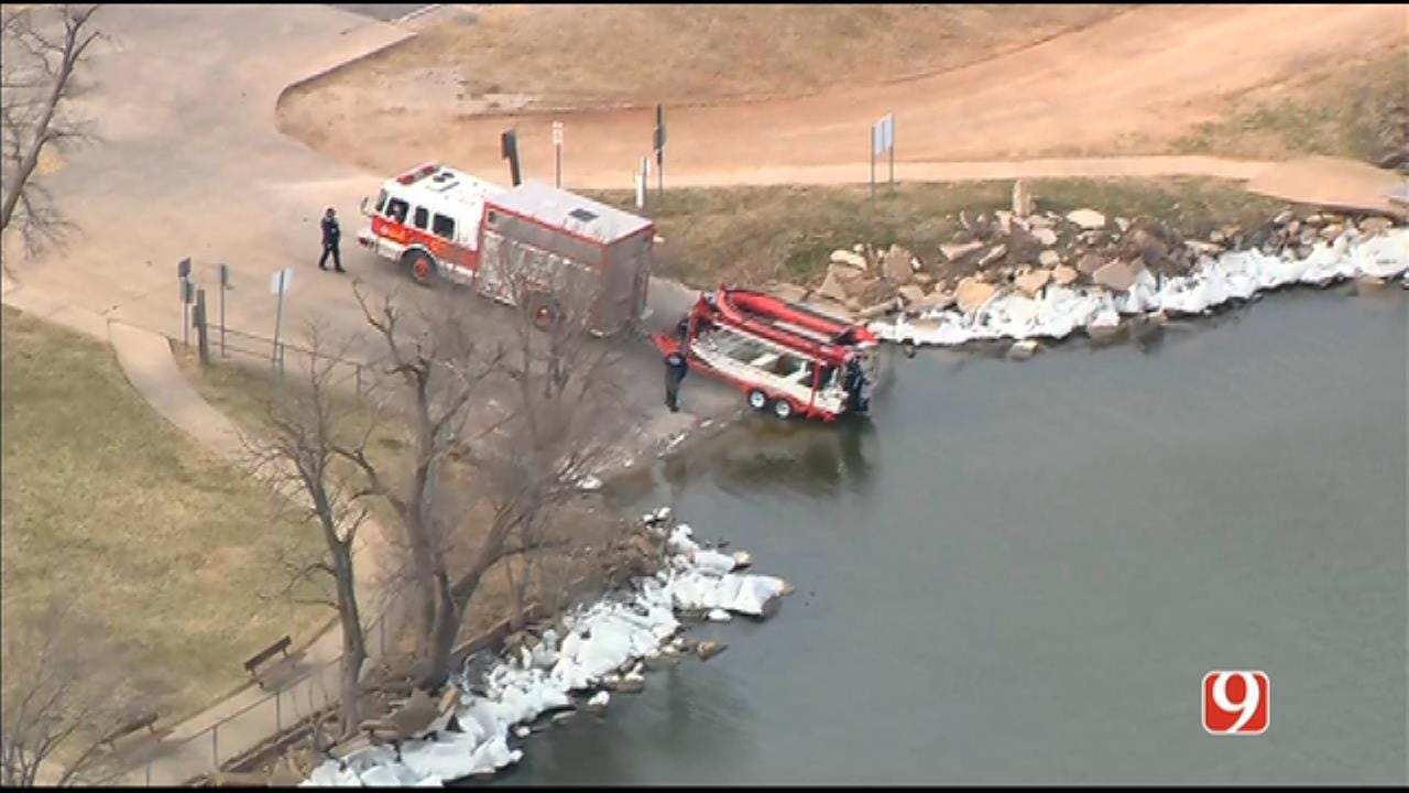 Dive Teams Searching Lake Overholser, Authorities Said