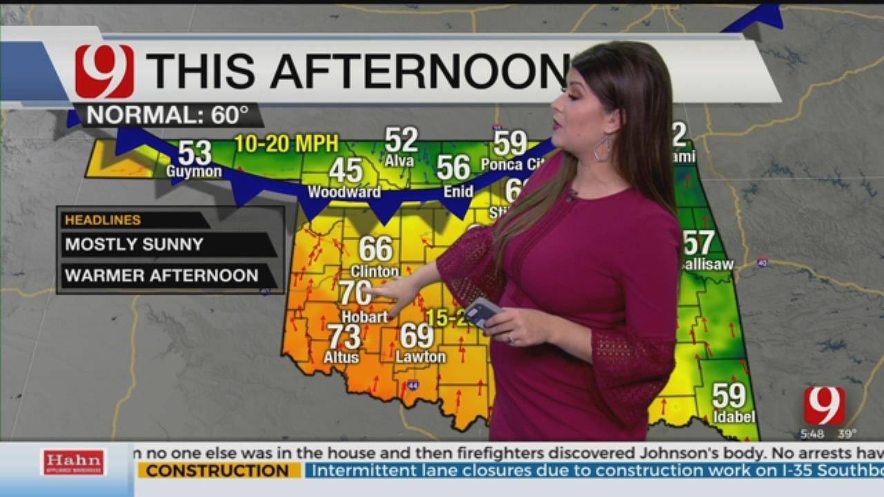 Lacey's 5 A.M. Thursday Morning Forecast