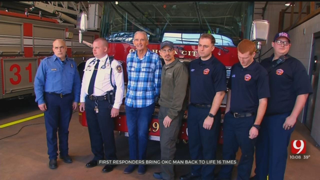 Cardiac Arrest Survivor Meets First Responders Who Saved His Life