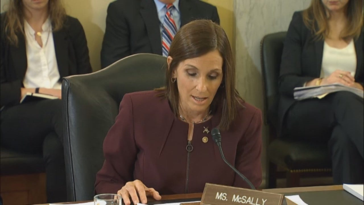 'I Stayed Silent For Many Years': Sen. McSally Says Officer Raped Her In The Military