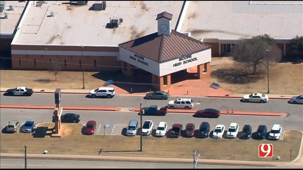 Moore Student Arrested, Accused Of Bringing Gun To School