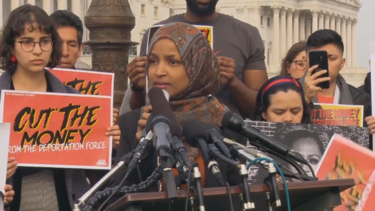 Rep. Omar's Israel Remarks Expose Democrats' Simmering Divisions