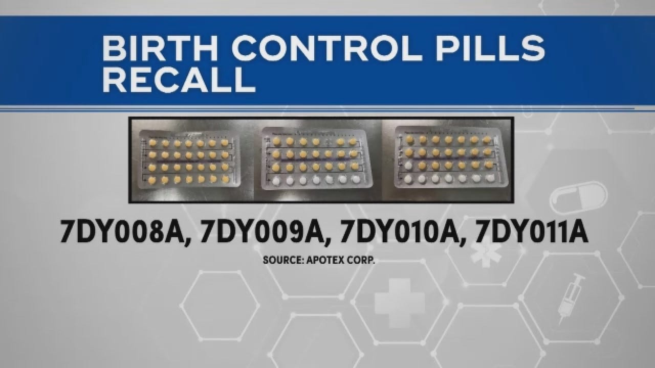 FDA Issues Recall Of Birth Control Pills Due To Packaging Error