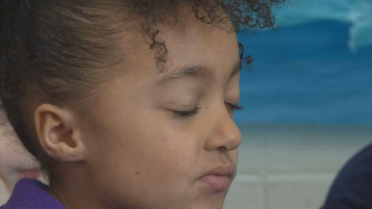 Young Students Practice Mindfulness Through Yoga In Wisconsin