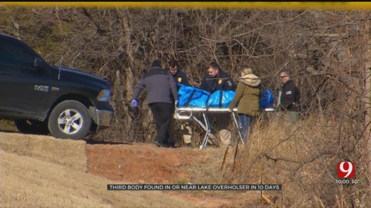 Investigation Underway After 3rd Body Found At Lake Overholser