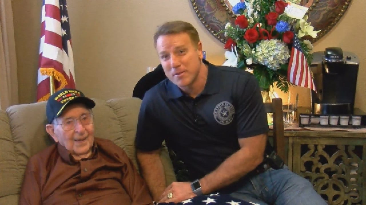 WWII Veteran Celebrates Memorable 100th Birthday