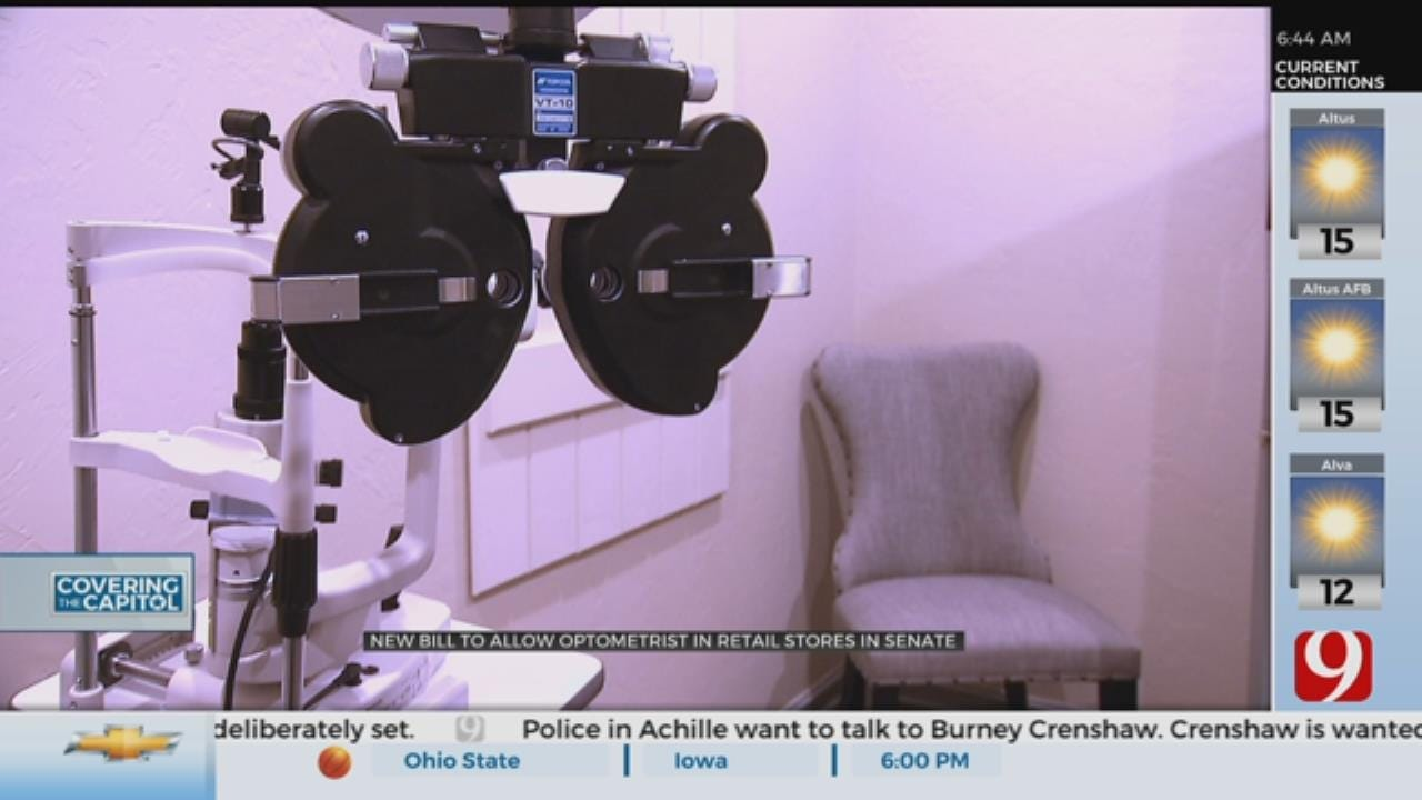 New Bill Would Undermine Statewide Vote To Put Eye Doctors In Stores