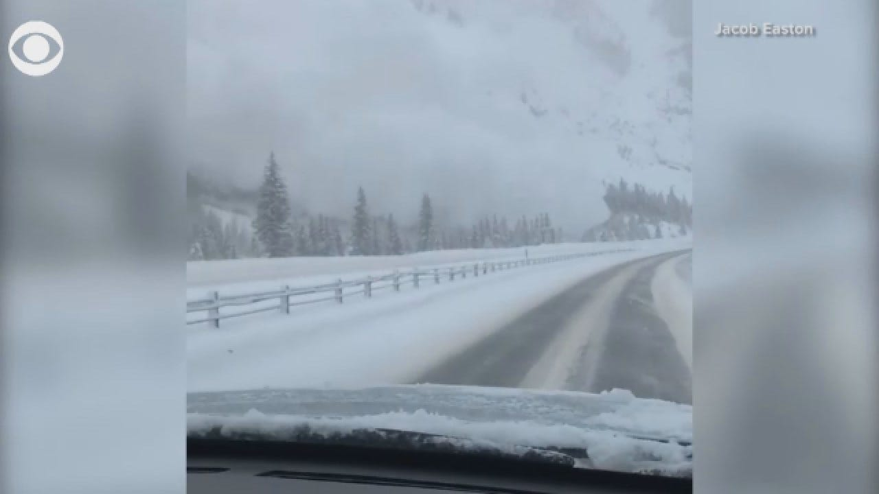 WATCH: Avalanche In Colorado Caught On Camera