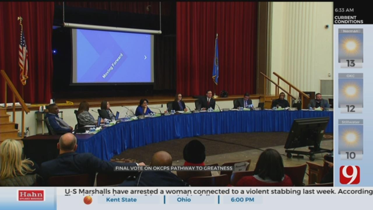 Final Vote On OKCPS Pathway To Greatness Calls For 15 School Closures