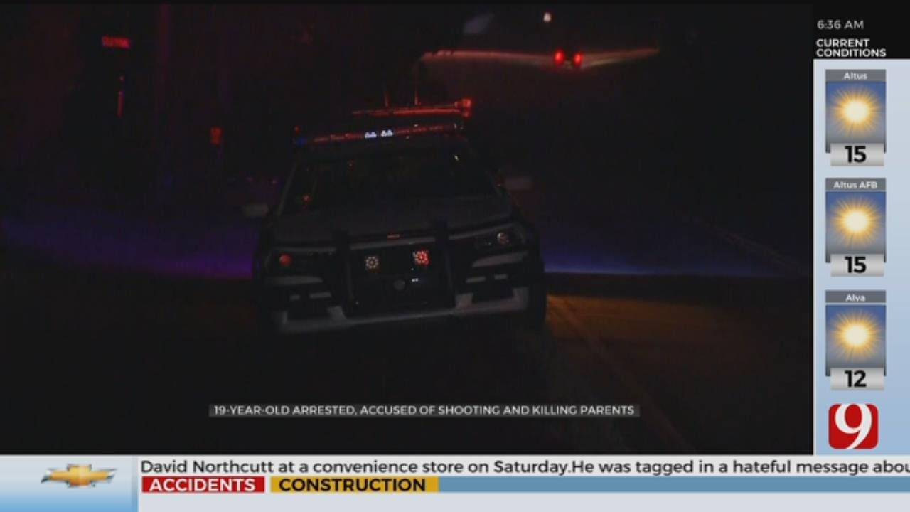 Investigation Continues After Edmond 19-Year-Old Arrested, Accused Of Killing Parents
