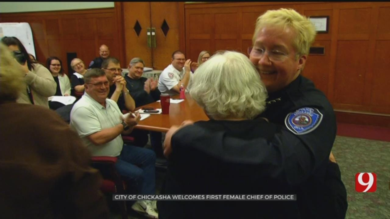 Chickasha Welcomes First Female Chief Of Police