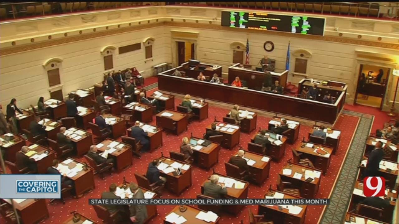 State Lawmakers Shift Focus To School Funding And Medical Marijuana