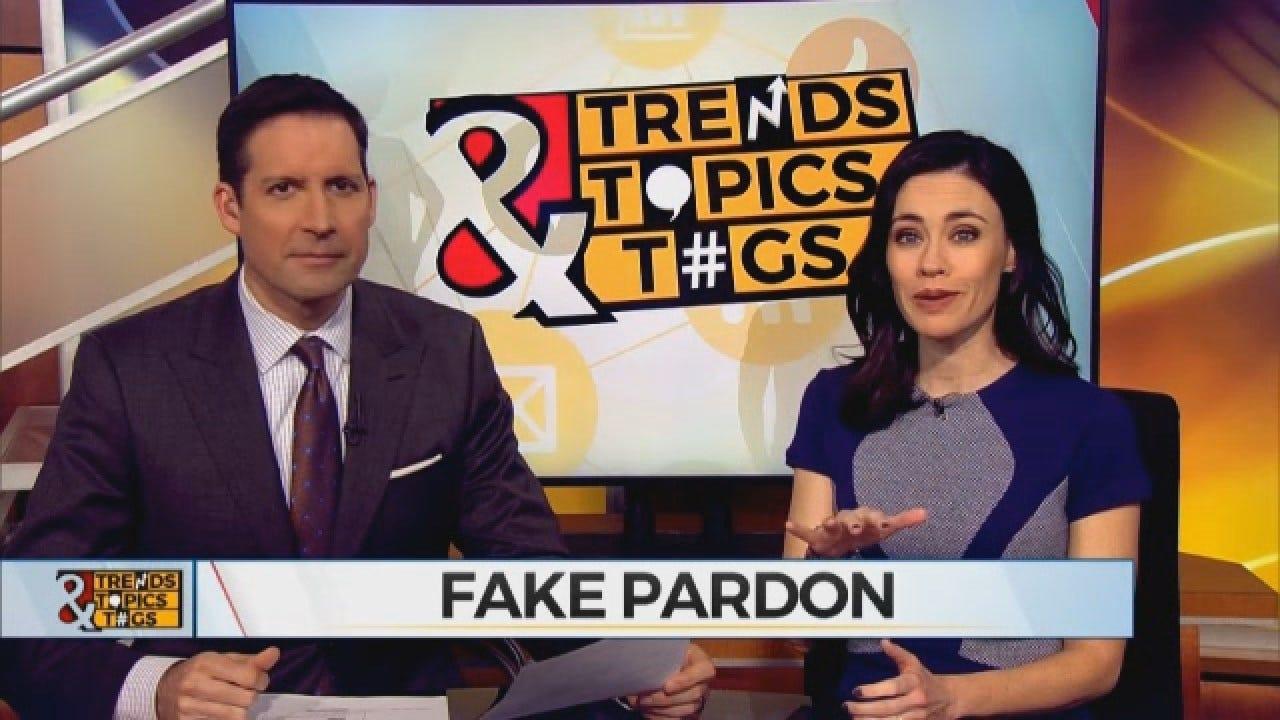 Trends, Topics & Tags: Man Creates, Sends Own Pardon Letter