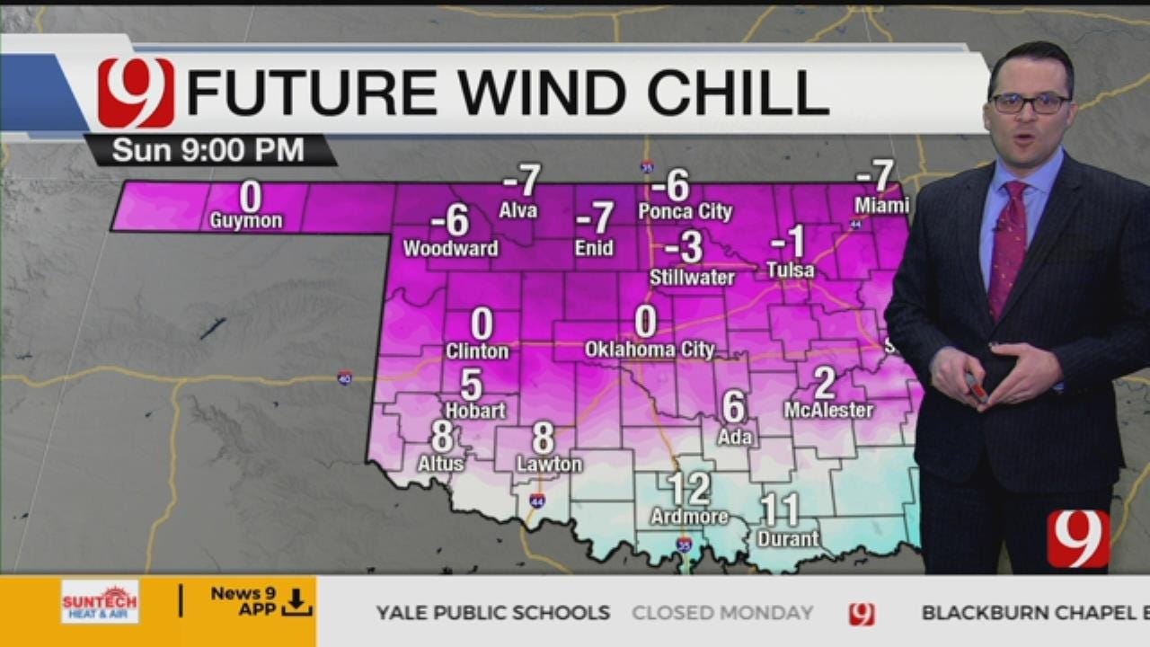 Dangerously Cold Temperatures In Store For Monday